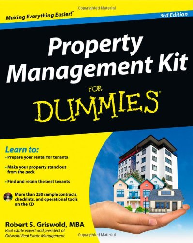 Property Management Kit For Dummies: Robert S. Griswold