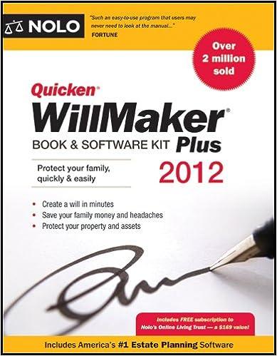 Nolo quicken willmaker plus 2011 buy online