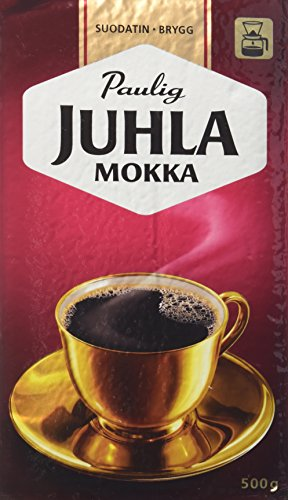 Paulig Juhla Mokka Coffee 500g Bag Imported From Finland