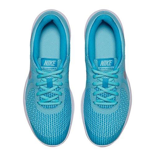 Bleached Fille Nike de Metallic Chaussures Bleu GS Silver Running 400 Noir 4 Revolution Aqua axaYz1
