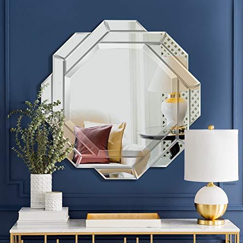 MIRROR TREND Contemporary Handmade Wall Mirror, Octagon Nest Shape Design, Premium Thick -