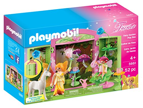 Set Fairy Garden (PLAYMOBIL Fairy Garden Play Box)