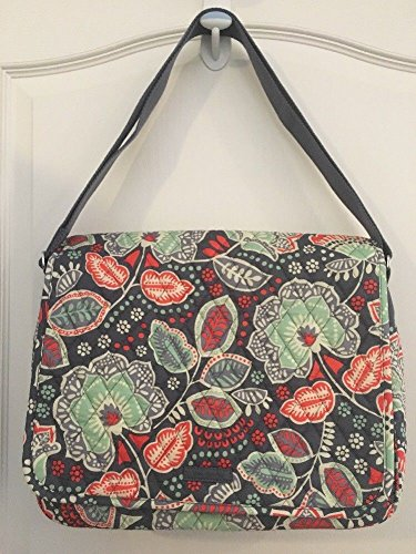 9d204473a96 Image Unavailable. Image not available for. Color  Vera Bradley Messenger (Nomadic  Floral)
