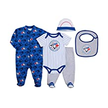 MLB Toronto Blue Jays 5-Piece Baby Layette Set
