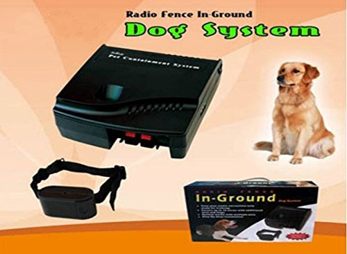 ALEKO TS-DF07 Deluxe In Ground Dog System for One Dog
