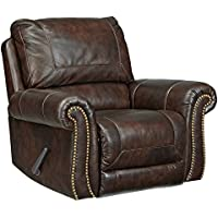 Signature Design by Ashley 8220225 Bristan Recliner, Walnut