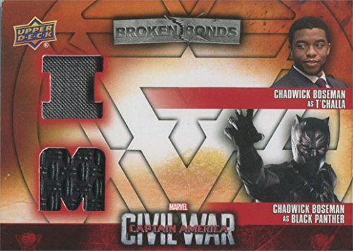 T'challa Costume (Captain America Civil War Costume Card BBI-BP Chadwick Boseman as T'Challa)