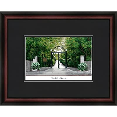 Image of Artwork Campus Images NCAA Georgia Bulldogs Academic Framed Lithograph