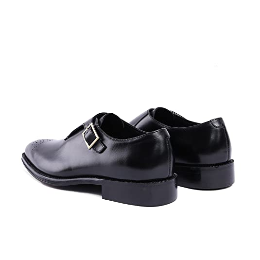 Fashion Loafer ShoesGenuine LeatherRound Toe;Punched Leather with Tassel;Rubber Sole;Brogue Shoes;