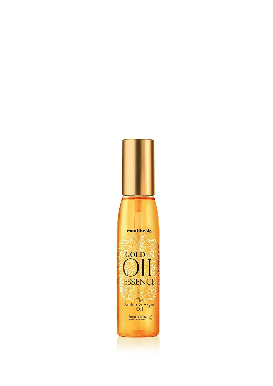 Montibel-Lo Gold Oil Essence Amber y Argan, Aceite Capilar, 130 ml