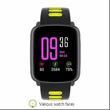 Reloj inteligente IP68 impermeable natación modo reloj inteligente Monitor de ritmo cardíaco monitor Sleep Calidad Podómetro
