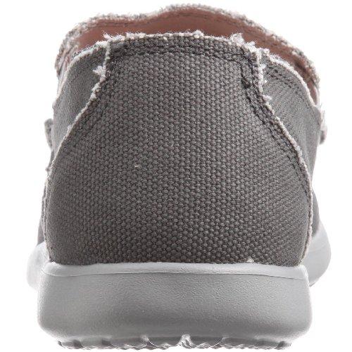 crocs Herren Santa Cruz Mens Mokassin Grau (Light Grey/Charcoal)