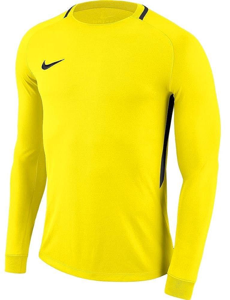 b830efa3a54d6 Amazon.com: NIKE Park III Goalkeeper Jersey Yellow L: Clothing
