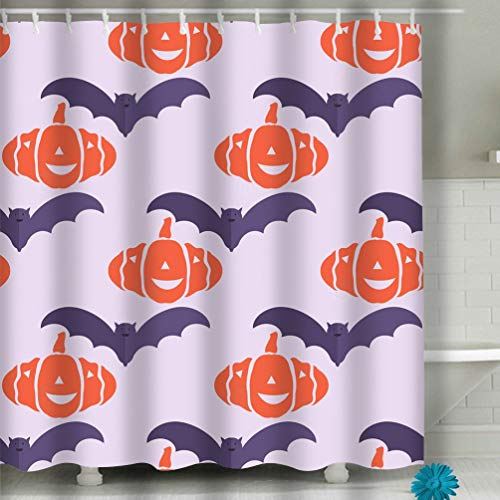 Xunulyn House Decor Shower Curtain Sets with Hooks 60