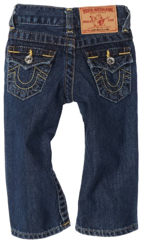 True Religion Baby-boys Infant Billy Jean, Medium Stonewash, 6-12 Months (True Religion Boys Jeans)
