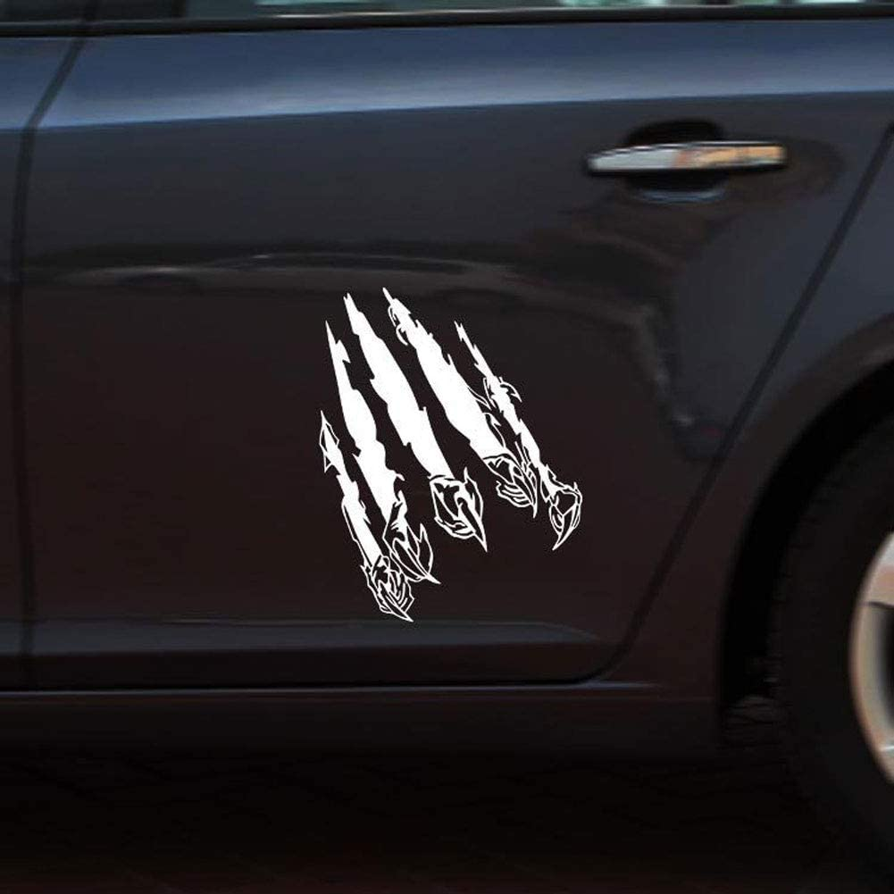Black Grebest Car Sticker External Decoration Car Sticker Eagle Tearing Claw Scratch Car-Styling Vehicle Body Decals Sticker Decoration