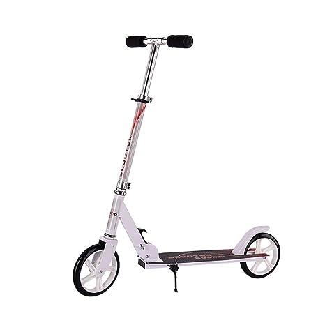 Amazon.com: Moolo Patinete para adultos, 2 ruedas grandes ...