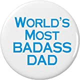 World's Most Badass Dad 2.25″ Bottle Opener w/ Keyring Father Review