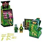 LEGO Ninjago Mech Dorato con Katana e 4 Minifigure: Lloyd, Wu e Generale Kozu, Set di Costruzioni Ricco di Dettagli per…  LEGO