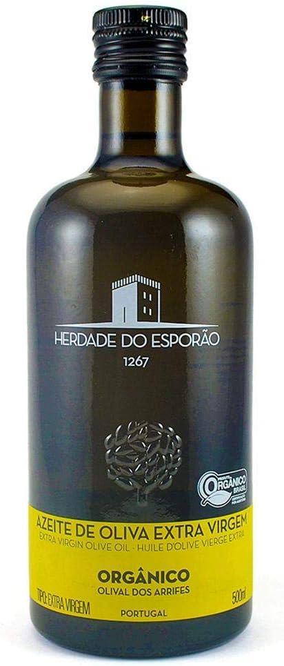 Azeite de Oliva Orgânico Extra Virgem Português Herdade do Esporão 500 ml por Herdade Do Esporão