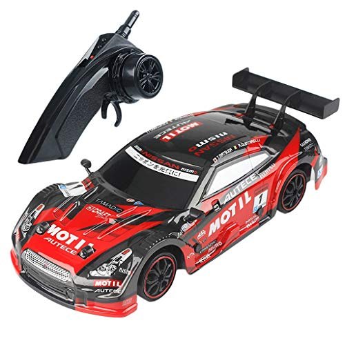 4wd Parts Kit (Remote Control RC Truck with Battery, 1:16 28km/h RC Car 4WD Double Battery High Power LED Headlight Racing Truck On-Road and Off-Road Racing Rock Crawling)