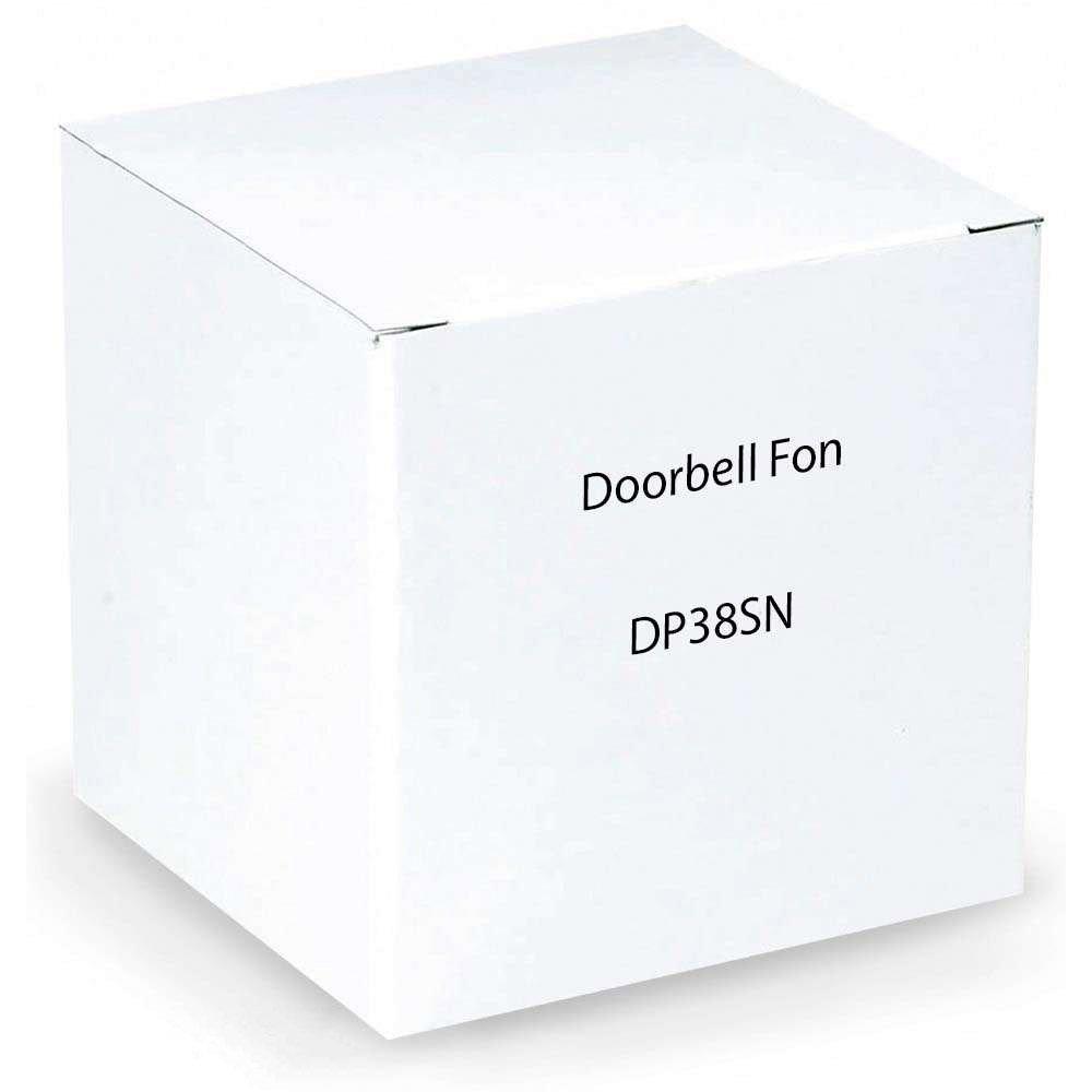 DoorBell Fon DP38 Door Answering System, NuTone Mount, Aluminum (DP38-SN) by American Computers
