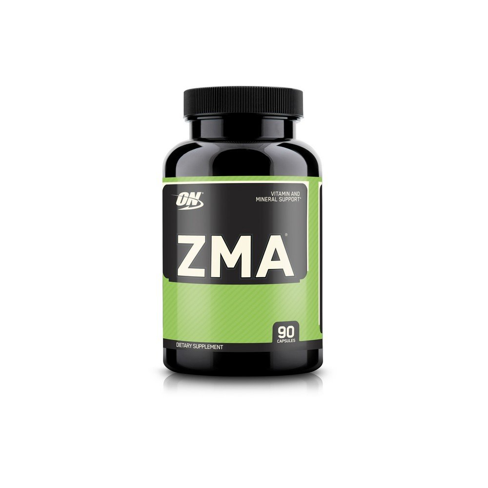 OPTIMUM NUTRITION ZMA Muscle Recovery and Endurance Supplement for Men and Women, Zinc and Magnesium