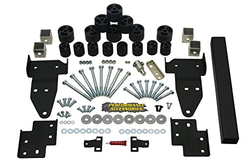 Performance Accessories, Chevy Colorado/GMC Canyon 2/4WD 2″ Body Lift Body Lift Kit, fits 2015 to 2016, PA10322, Made in America