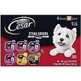 CESAR Soft Wet Dog Food Classic Loaf in Sauce Steak
