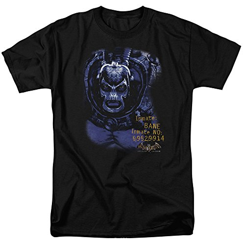 DC Comics Batman Arkham Asylum Bane Inmate Adult T-Shirt - (2X-Large)