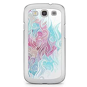 Waves Samsung Galaxy S3 Transparent Edge Case - Design 9