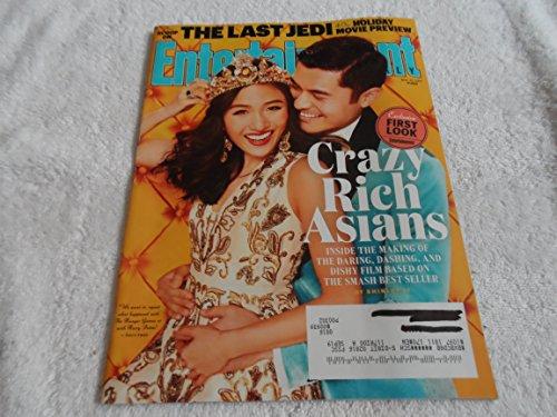 Entertainment Weekly (November 10, 2017) Crazy Rich Asians Cover