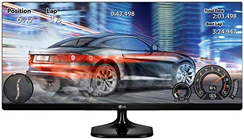 LG 25UM58-P 25-Inch 21:9 UltraWide IPS Monitor with Screen Split
