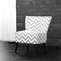 Dorel Living Chevron Accent Chair