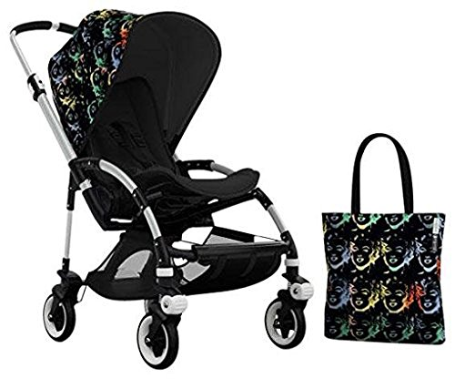 Bugaboo Bee3 Accessory Pack - Andy Warhol Marilyn/Black (Special Edition) by Bugaboo (Image #2)