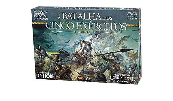 Devir - A batalha Dos Cinco exércitos (en portugués) (BGB5EPT): Amazon.es: Juguetes y juegos