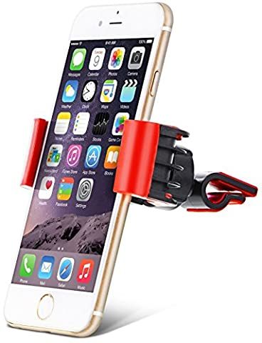 Aduro U-GRIP SWIVEL Universal Smartphone Air Vent Car Mount Holder with 360° Rotating swivel head compatible Apple iPhone, Samsung Galaxy, HTC and all Devices up to 6