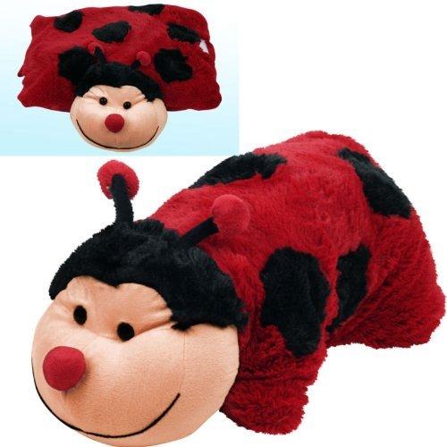 Cuddlee Pet Pillow Plush Stuffed Pillow Pet - Ladybug