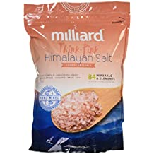 Milliard Himalayan Salt Coarse Crystals – 5Lb. Bag – Pure and Natural with Minerals and Nutrients for Health Benefits (3-6 mm) BULK
