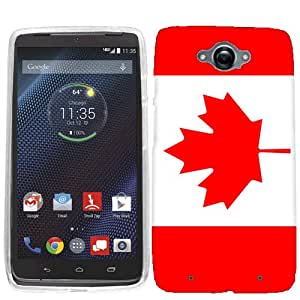 For Motorola Droid Turbo Canada Flag Case Cover