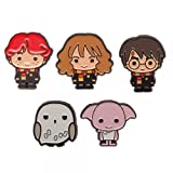 Harry Potter Characters 1″ Tall Metal Enamel Costume Set of 5 Pins