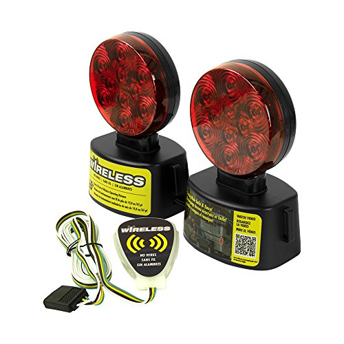 (Blazer C6304 LED Wireless Magnetic Trailer Towing Light)
