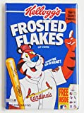 cardinals refrigerator magnet - St Louis Cardinals Cereal Box Fridge Magnet (2 x 3 inches)