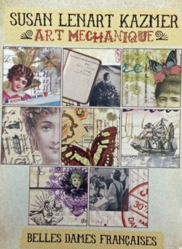 ICE Resin Art Mechanique Image Pack Belle Dames - Vintage Blue Resin