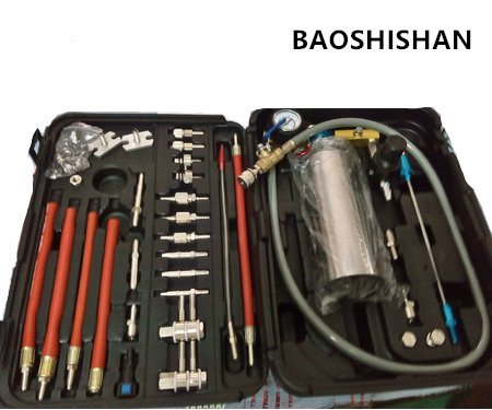 Fuel Injection System Cleaning Throttle Toolkit for auto Fuel Injector and Cleaner Machine GX100 by BAOSHISHAN