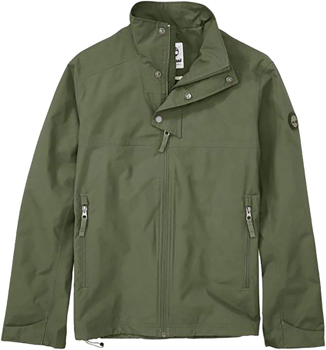 único emprender Indica  Timberland Men's MT. Crescent Waterproof Olive Night Rain Jacket - Green -  Medium: Amazon.co.uk: Clothing