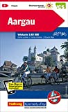 Aargau: Velokarte Nr. 5, Massstab 1:60 000, waterproof, Free Map on Smartphone included (Kümmerly+Frey Velokarten)