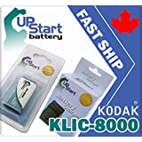 DSND Battery+Charger Kodak Klic-8000 Easyshare Z1012 1015 1085 1485 612 712 812 IS~