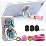 Cell Phone Ring Holder Car Mount,New Design Fashion Tassels Finger Ring Mount Phone Holder For iPhone Galaxy S5 S5 S7 S8 Lg 6 Lg6 iPad s And Other Smartphone And Tablet dream