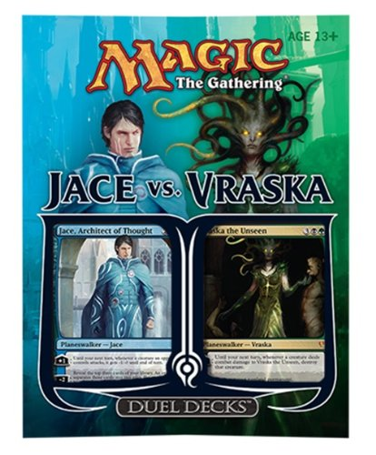 Magic the Gathering: Jace Vs. Vraska Duel Deck (Best Duels Of The Planeswalkers)